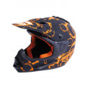 Stealth Helmet - Matt Coaster Orange