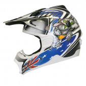 Rev X3 Rabid - White/Blue/Silver