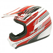 SX-100 Pinstripe - Red/White