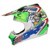 Rev X3 Rabid - White/Green/Blue