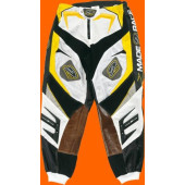 Gladiator Pants - Black Gold