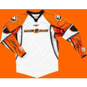 SX Per Jersey - White Orange