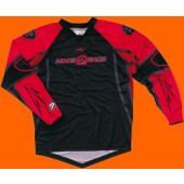SX Per Jersey - Black Red