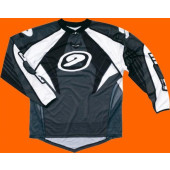 MX Tech Jersey - Silver Black