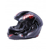 Full Face Origin Helmet - Black/Red