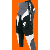 MX Tech Pants - Black Silver