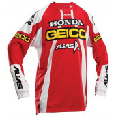 A1 Geico Team Jersey - Red/White