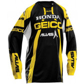 A1 Geico Team Jersey - Yellow/Black