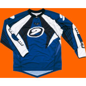 MX Tech Jersey - Blue Black