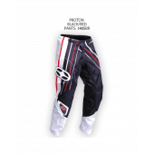 Proton Pants – Black/Red
