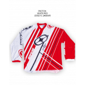 Proton Jersey – White/Red