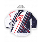 Proton Jersey – Black/Red