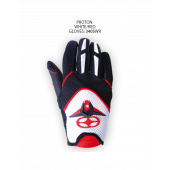 Proton Gloves – White/Red