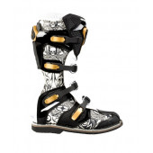 Attack Trophee Boots - Black Tattoo
