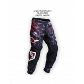 Spectrum Energy Pants – Black/Red