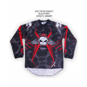 Spectrum Energy Jersey – Black/Red