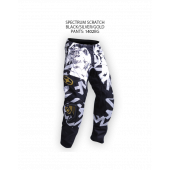 Spectrum Scratch Pants – Black/Silver/Gold