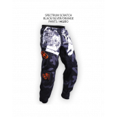Spectrum Scratch Pants – Black/Silver/Orange