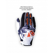 Spectrum Scratch Gloves – Black/Silver/Orange