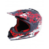 Stealth Helmet - Scratch Red